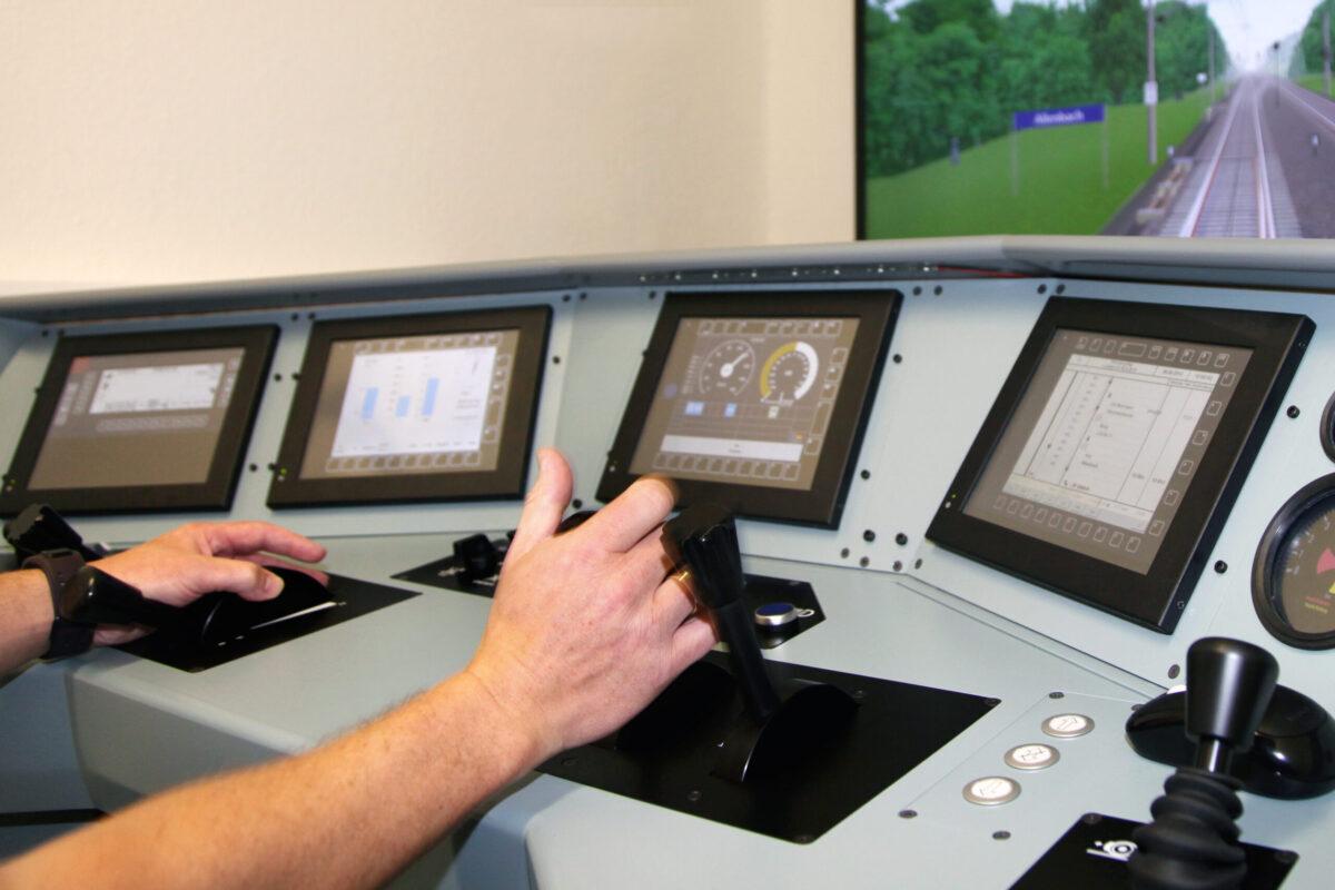 Simulator bei Railconzept