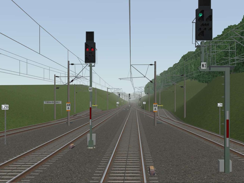 Simulator - Eindruck vom Videobild